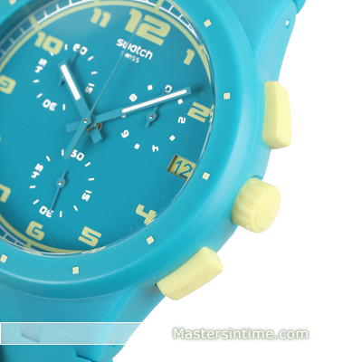 Plastic Chronograph with date Frühjahr / Sommer Kollektion Swatch