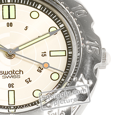 Swiss Made Steel Watch with Diver Look Herbst / Winter Kollektion Swatch