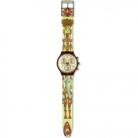 Swatch Dancing Feathers Uhr