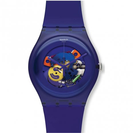 Swatch Purple Lacquered Uhr